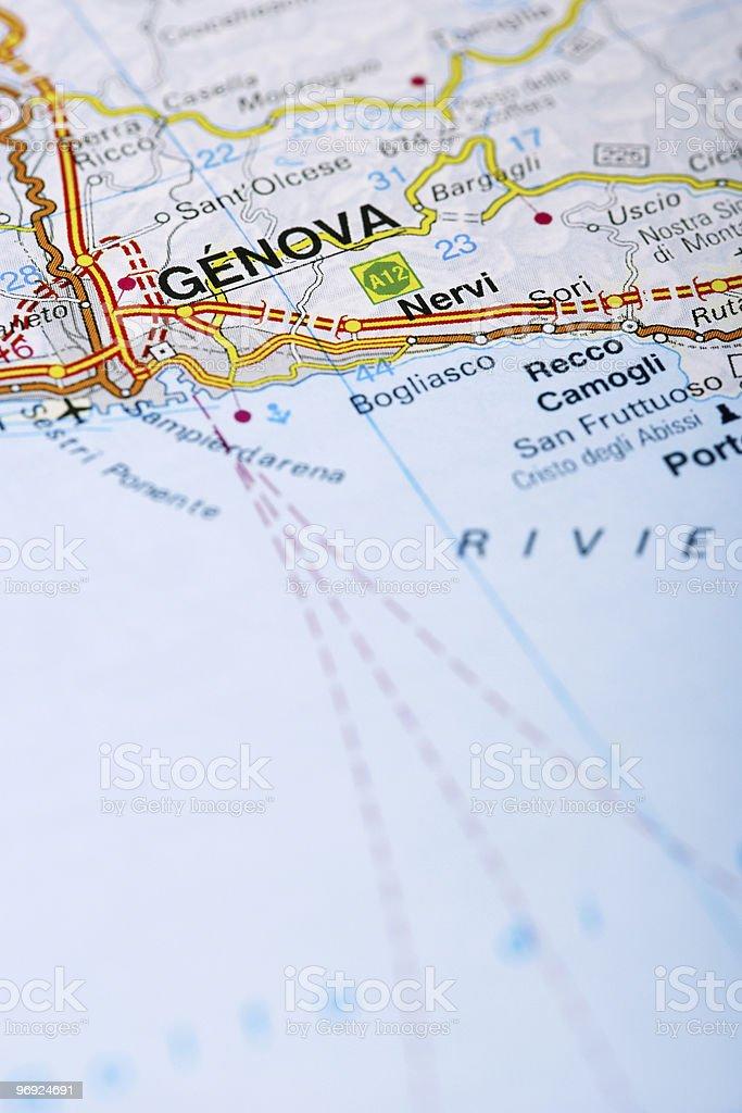 Destination: Genoa royalty-free stock photo