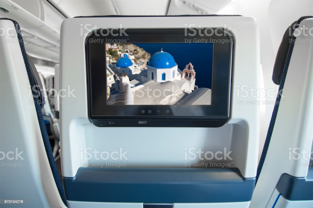Destination Greece, Santorini stock photo