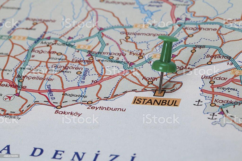 Destination Istanbul, Turkey, royalty-free stock photo