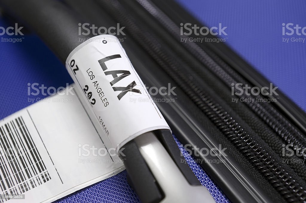 Destination LAX stock photo