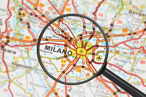 Reiseziel-Mailand (mit Lupe – Foto
