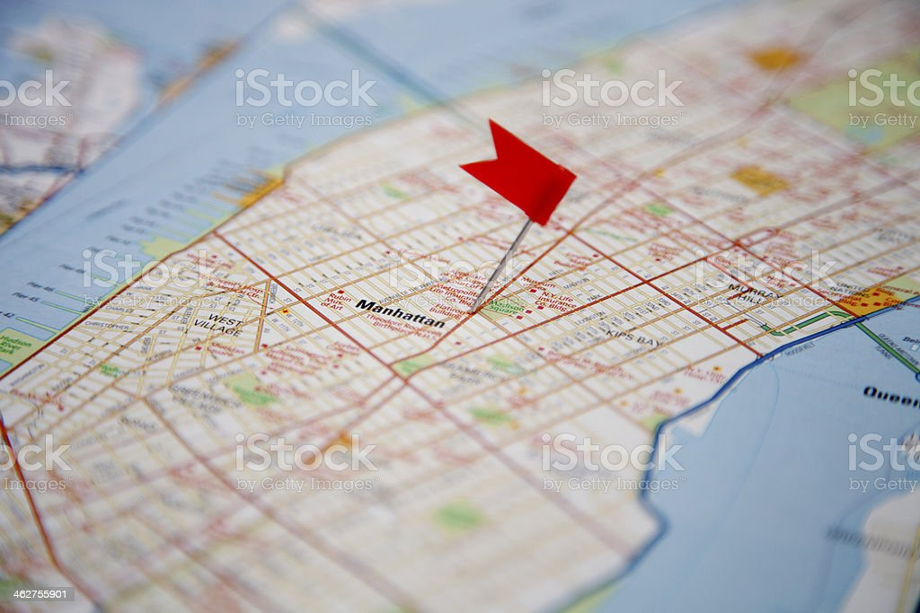 Destination New York stock photo