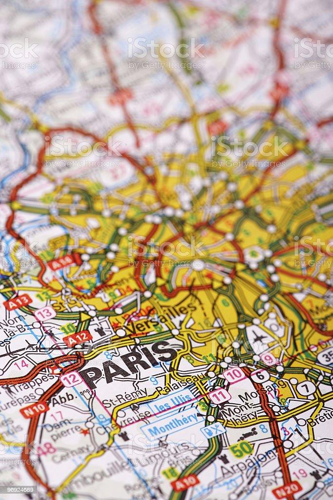 Destination: Paris royalty-free stock photo