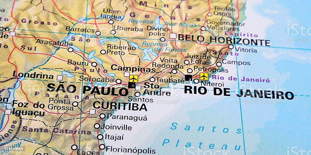 Destination: Rio De Janeiro & Sao Paulo stock photo