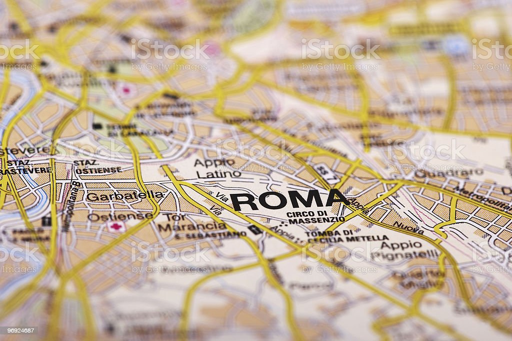 Destination: Rome royalty-free stock photo