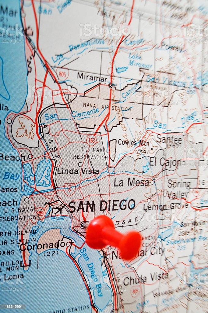 Destination San Diego royalty-free stock photo