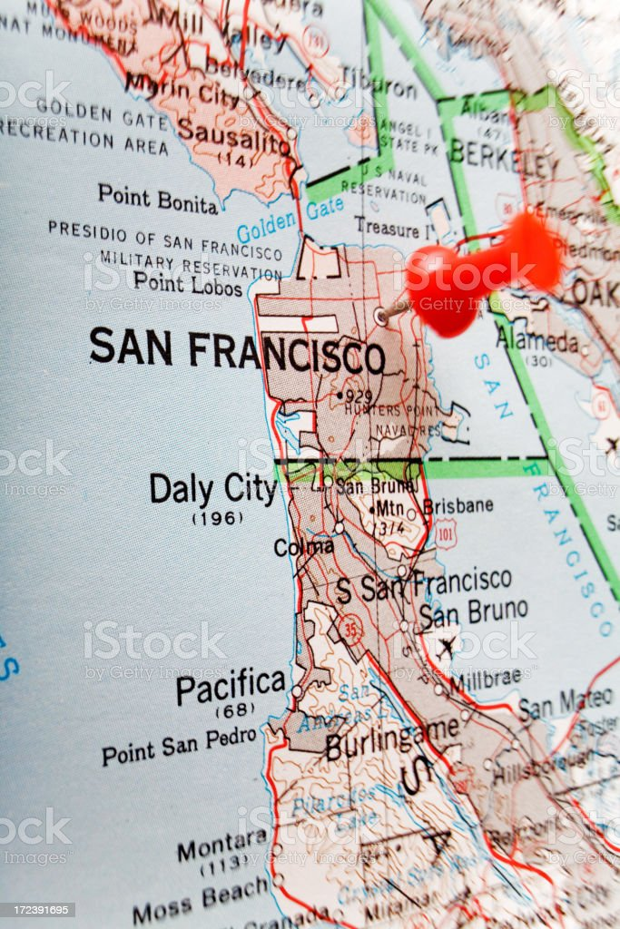 Destination San Francisco royalty-free stock photo