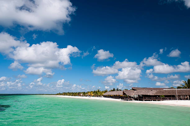 destination scenic of port cayo blanco, cuba - mahroch stock pictures, royalty-free photos & images