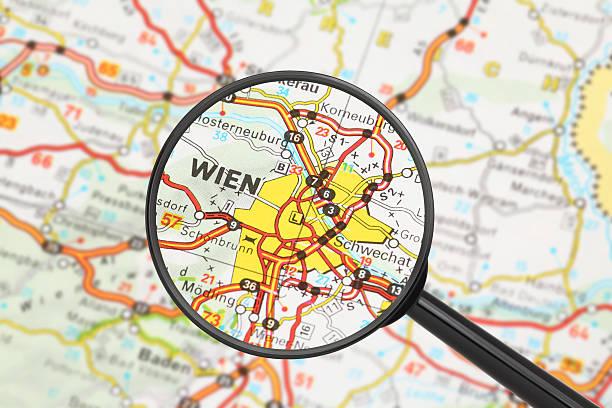 Reiseziel-Wien (mit Lupe) – Foto