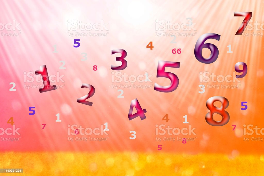 Destiny Numerology Mystical Numbers Stock Photo - Download