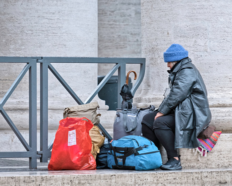 Destitute Stock Photo - Download Image Now