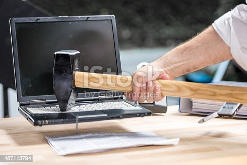 593328060istockphoto Destroyed laptop 487113794