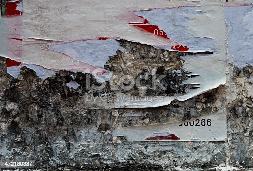 istock destroyed poster 472180337