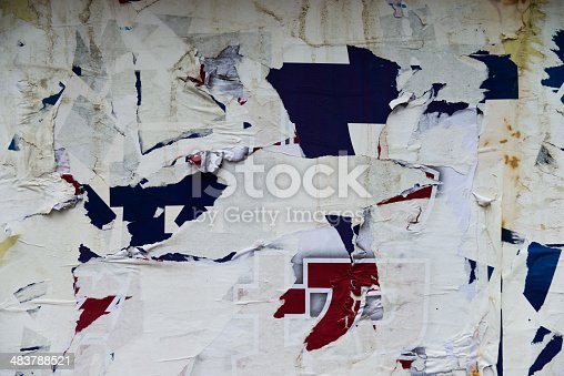 istock destroyed poster 483788521