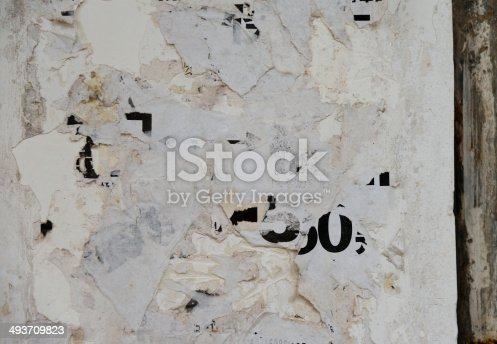istock destroyed poster 493709823