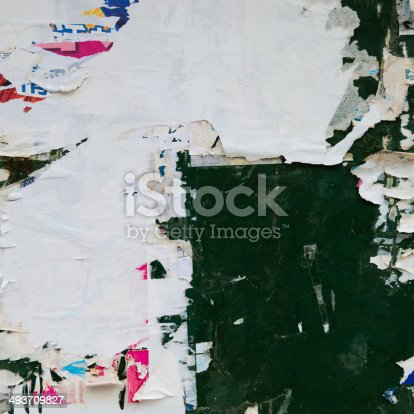 istock destroyed poster 493709827