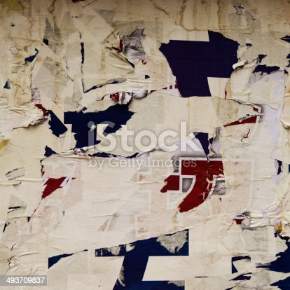 istock destroyed poster 493709837