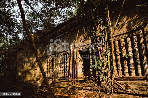 istock Destroyed Ruins in Cambodia 1067783064
