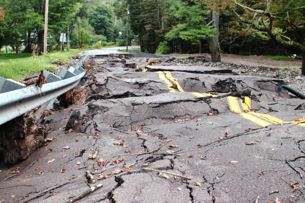 destruction flood damaged - natural disaster stock pictures, royalty-free photos & images
