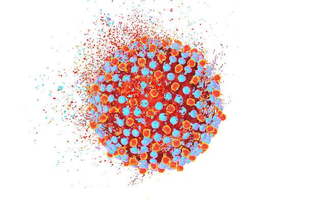 destruction of hepatitis c virus - c - fotografias e filmes do acervo