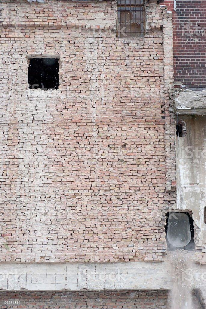 destruction photo libre de droits
