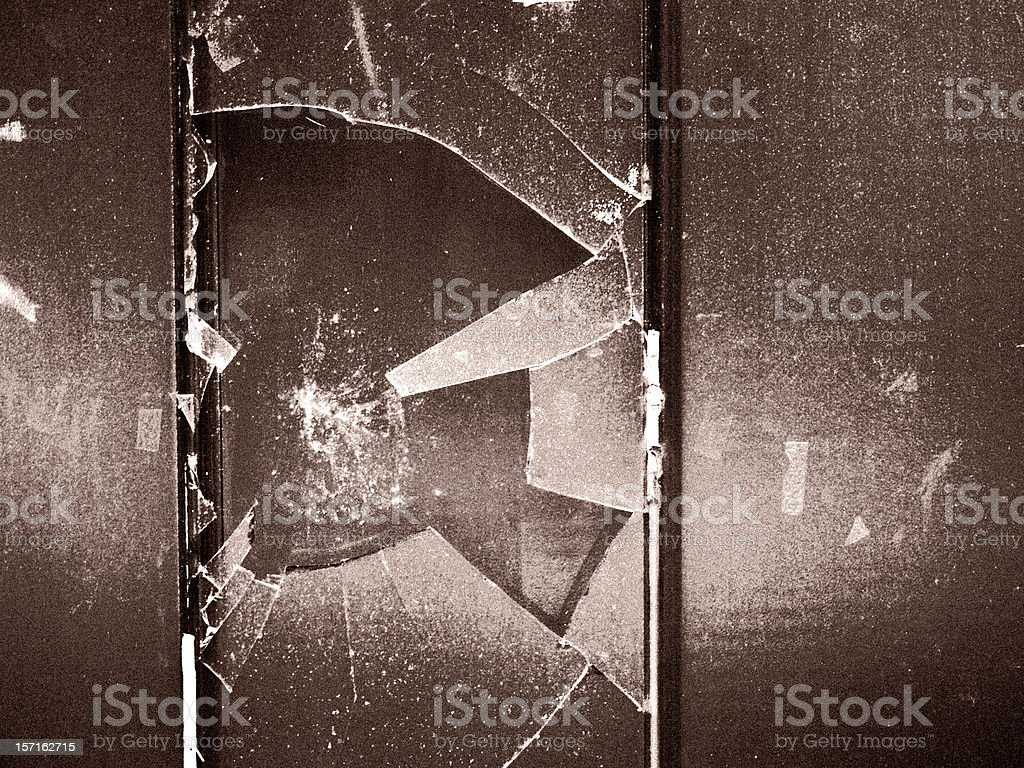 Destructivity. stock photo