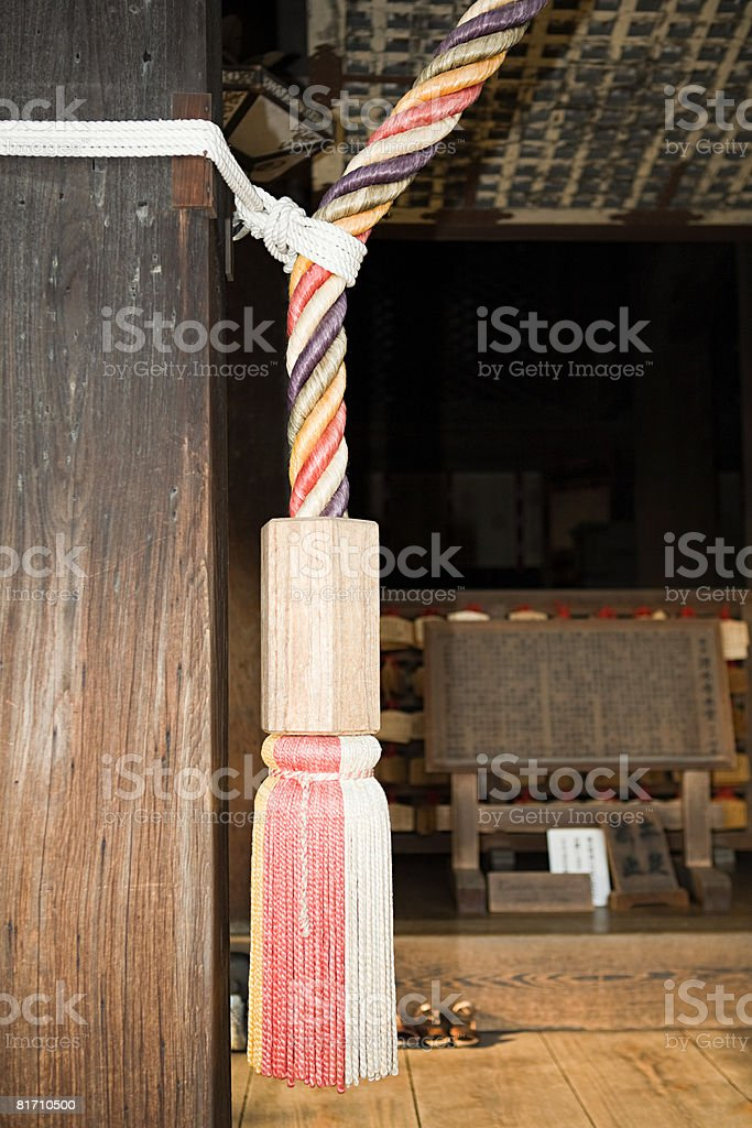 Detail at temple royalty-free stock photo