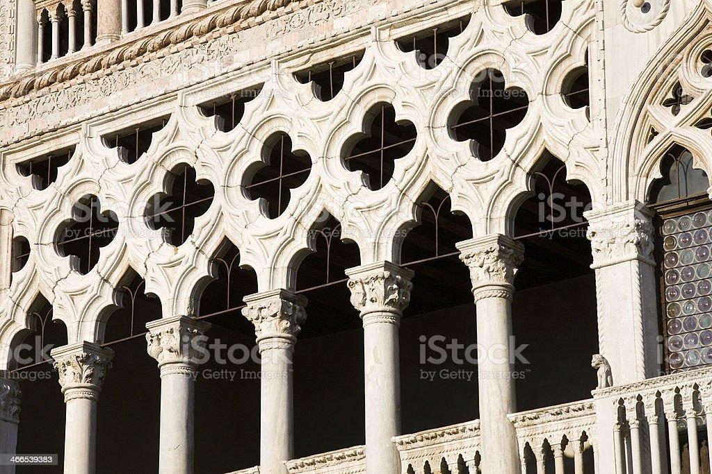 Detail Ca' d'Oro, Venice stock photo