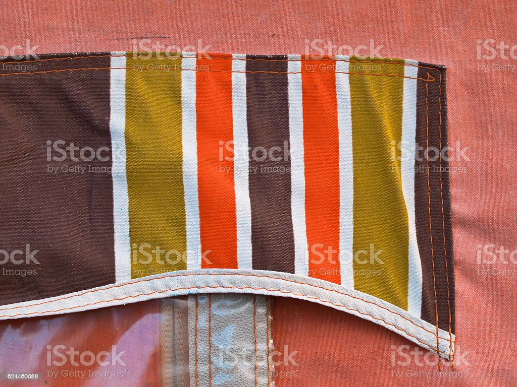 Detail camping tent stock photo