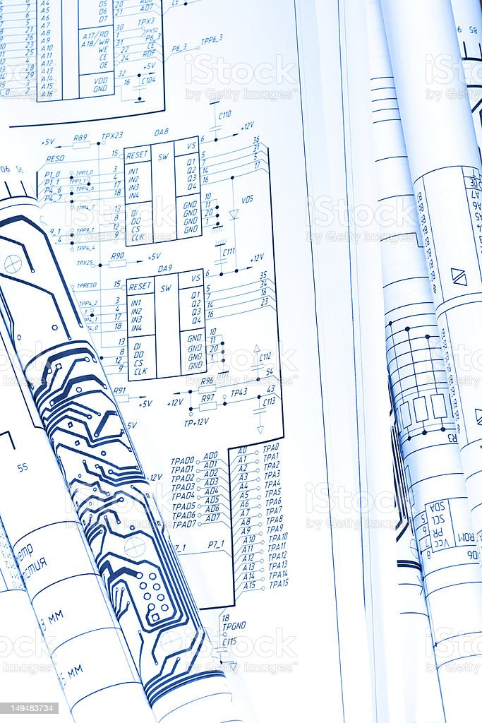 Detail drawings rolled in a tube stock photo more pictures of detail drawings rolled in a tube royalty free stock photo malvernweather Choice Image