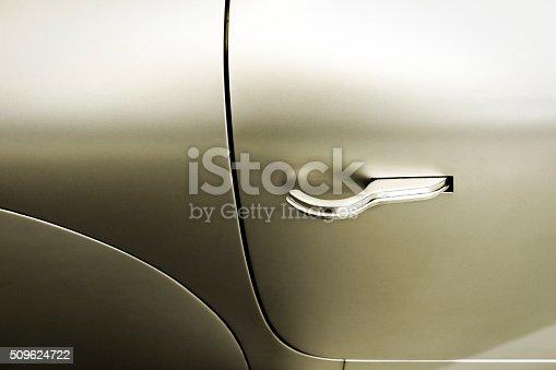 istock Detail from a car door 509624722