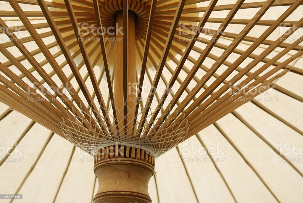 detail from asian parasol royalty-free stock photo