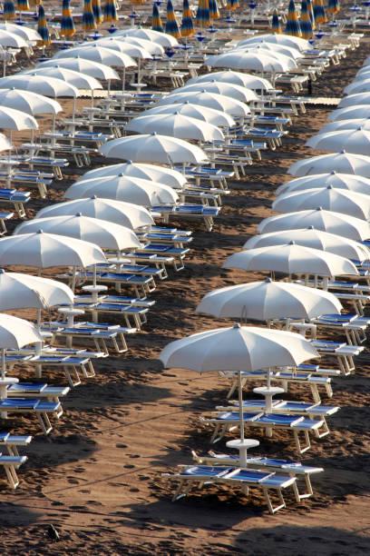 Detail vom Strand in Becici – Foto