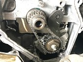 istock Detail gear engine automobile 679890378