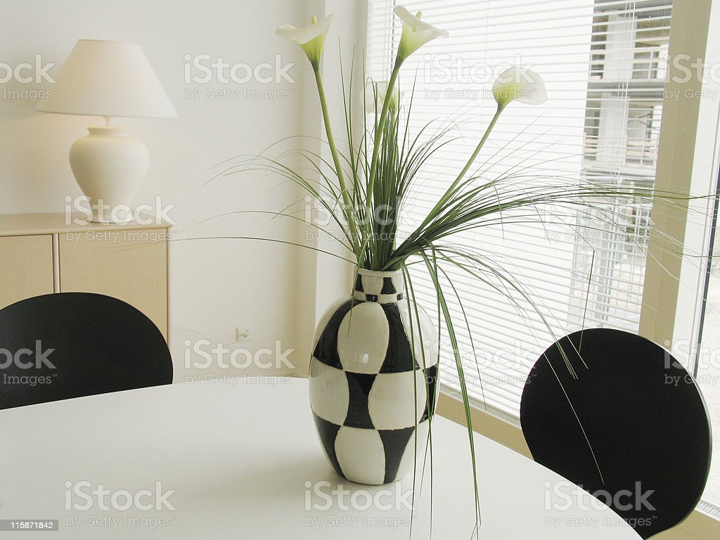 Detail living room royalty-free stock photo