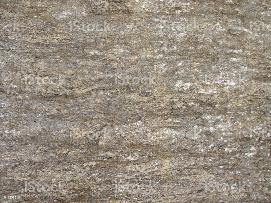 Detail look at Mica Schist stone from the Czech Republic. stock photo