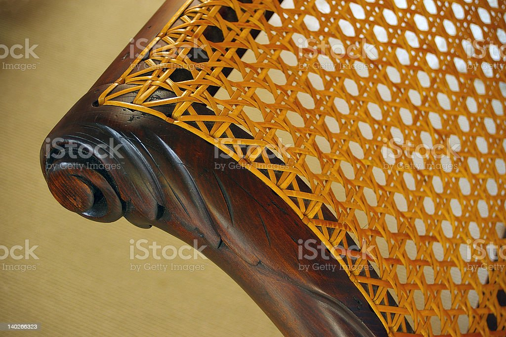 chaise longue detail royalty-free stock photo