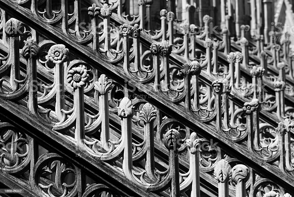 Detail Milan Dome - Architetture stock photo