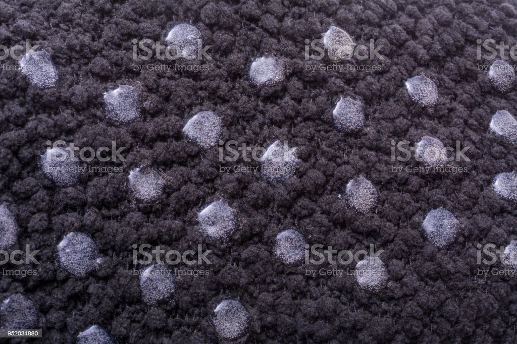 Detail non-skid socks with rubber nobs stock photo