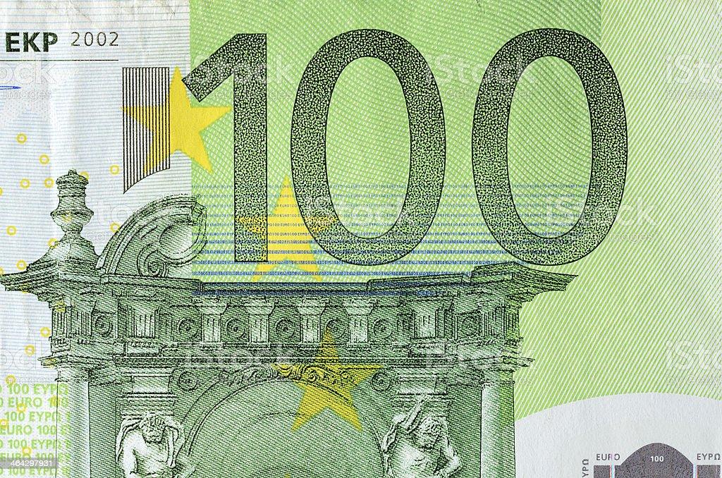 Detail von 100-euro-Schein – Foto