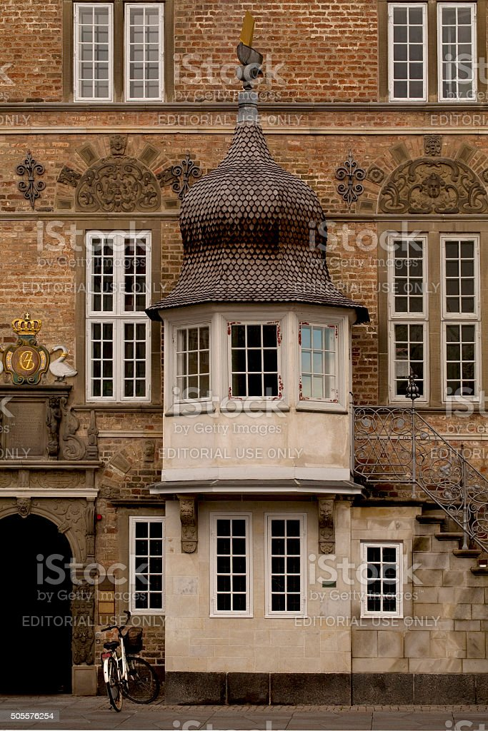 Detail of a Building. stock photo