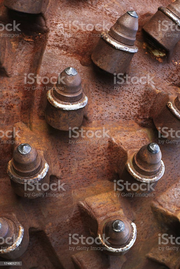 Detail Of A Drilling Head royalty-free stock photo