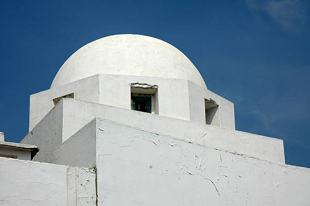 Detail of a house in Tunisia - foto de stock