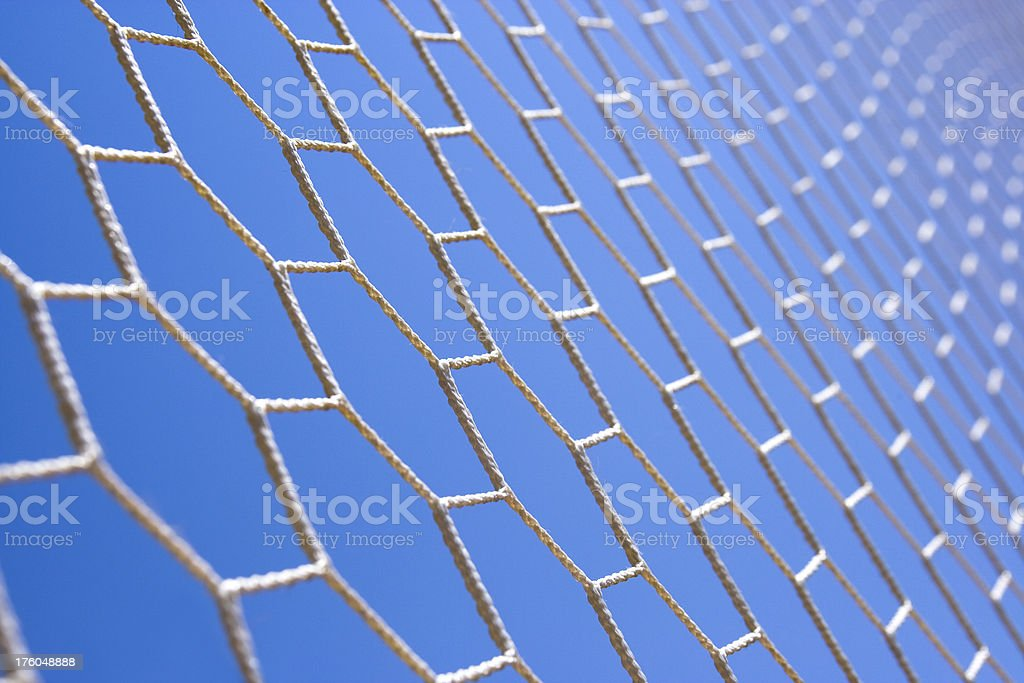 Detail of a net royalty-free stock photo