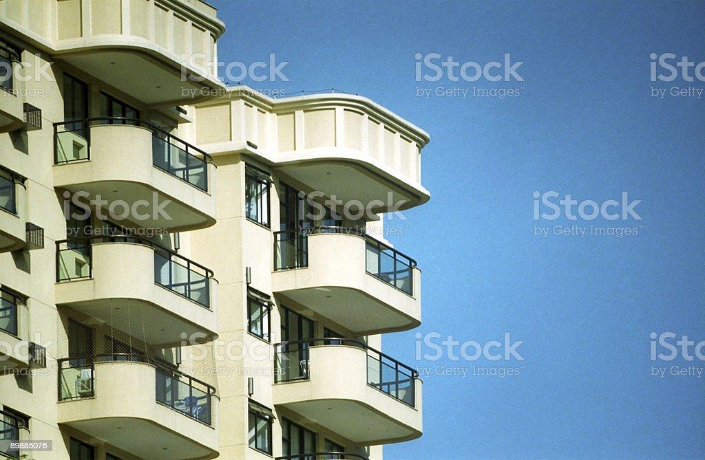 Деталь нового здания Стоковые фото Стоковая фотография