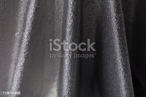 518201052istockphoto Detail of a piece made of aluminum 1126705633