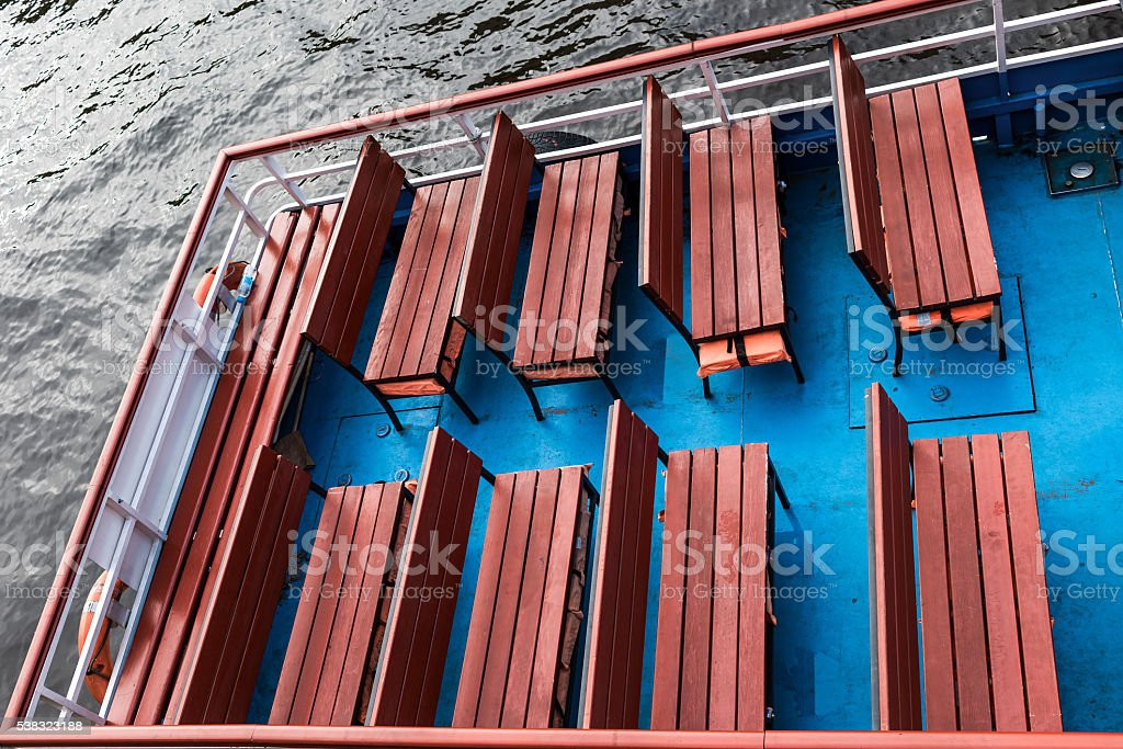 Detail of a ship stock photo
