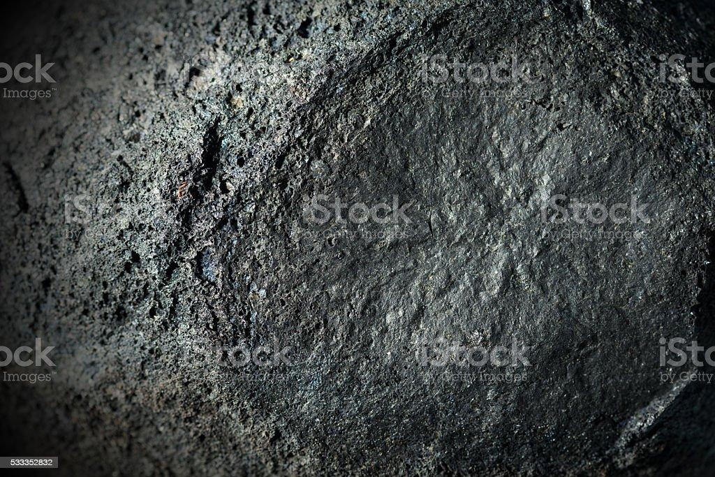 Détail d'une roche volcanique à l'Etna Italie - Photo