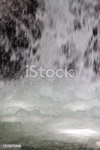 istock Detail of a waterfall 1310973449