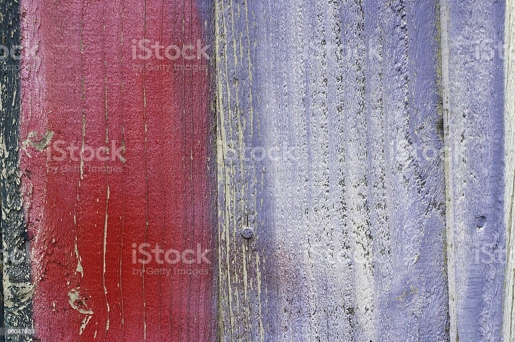 Wood background red and lilac stock photo